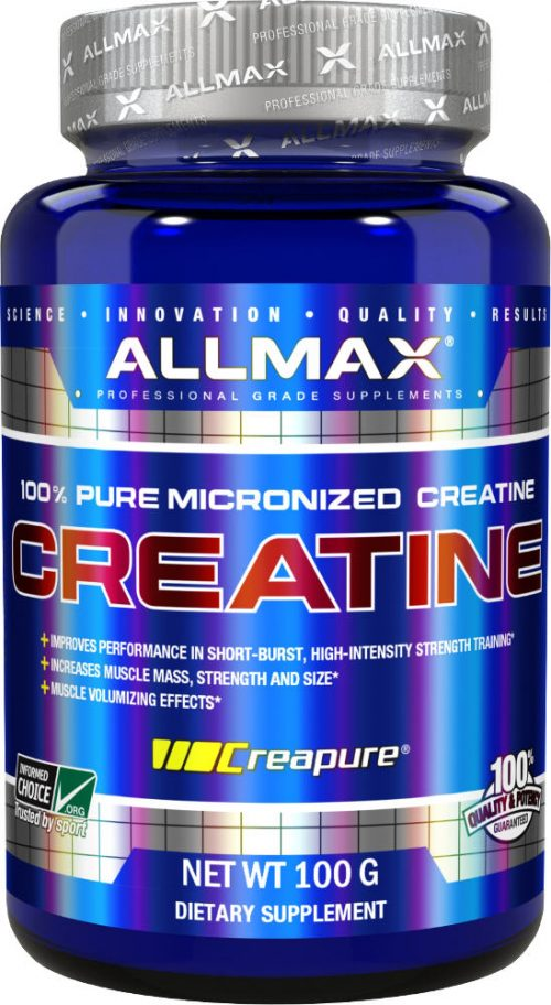 AllMax Nutrition Micronized Creatine Monohydrate - 100g