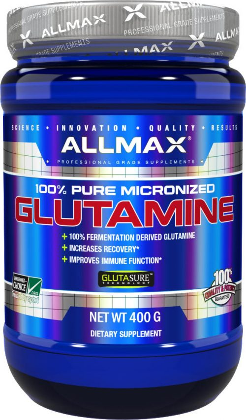 AllMax Nutrition Micronized Glutamine - 400g
