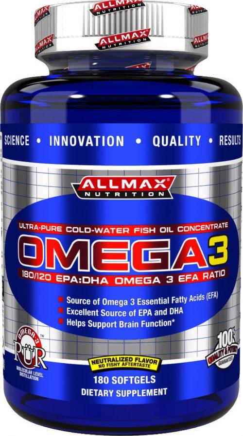 AllMax Nutrition Omega 3 - 180 Softgels