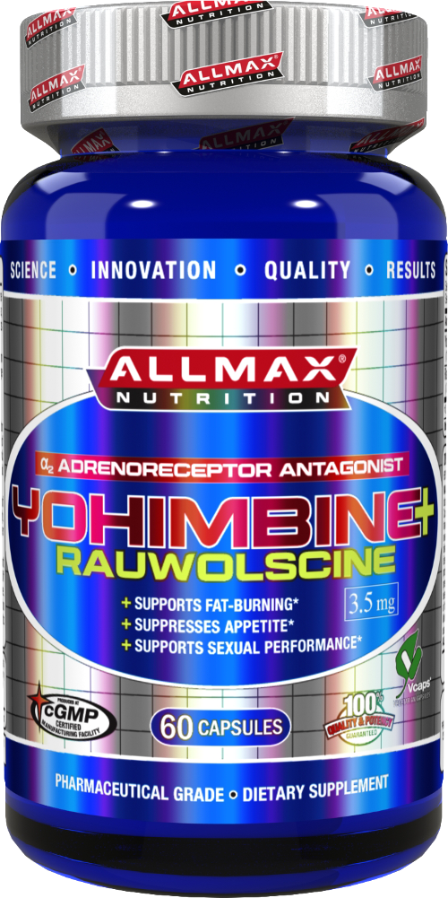 AllMax Nutrition Yohimbine + Rauwolscine - 60 Capsules