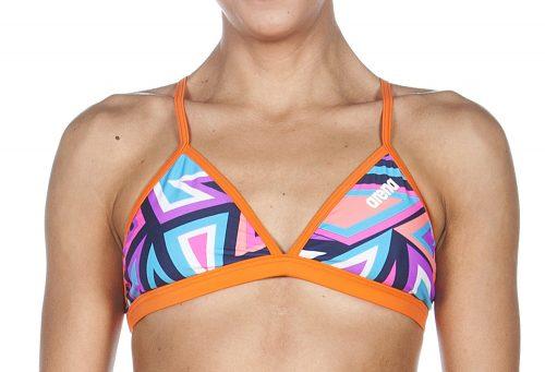 Arena Tulum Tie Back Top - Women's - navy/mango, 28
