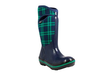 BOGS Plimsoll Plaid Tall Boots - Women's