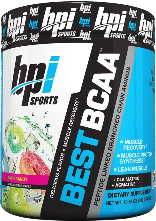 BPI Sports Best BCAA - 30 Servings Sour Candy