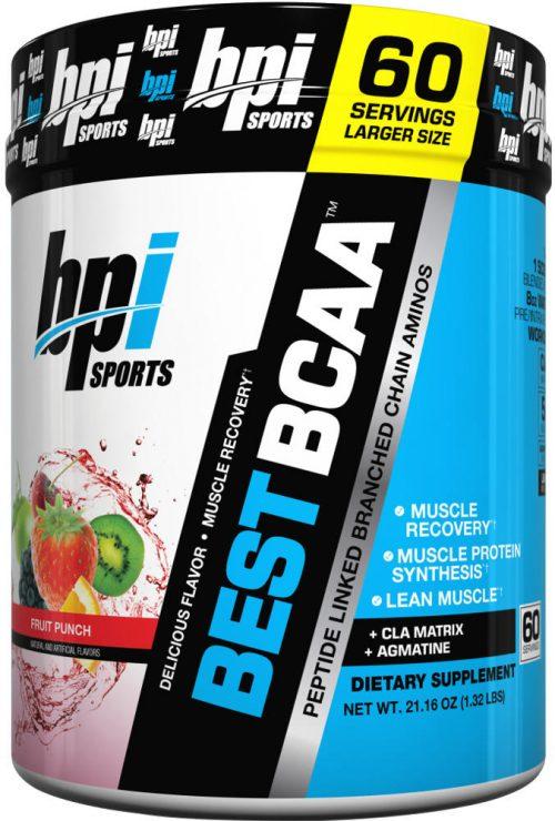 BPI Sports Best BCAA - 60 Servings Fruit Punch
