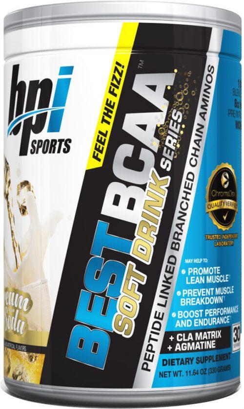 BPI Sports Best BCAA Soft Drink Series - 30 servings Cream Soda