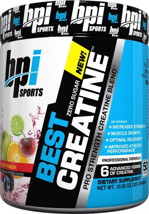 BPI Sports Best Creatine - 50 Servings Fruit Punch