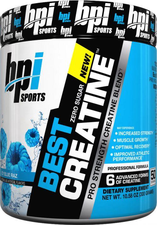 BPI Sports Best Creatine - 50 Servings Icy Blue Raz
