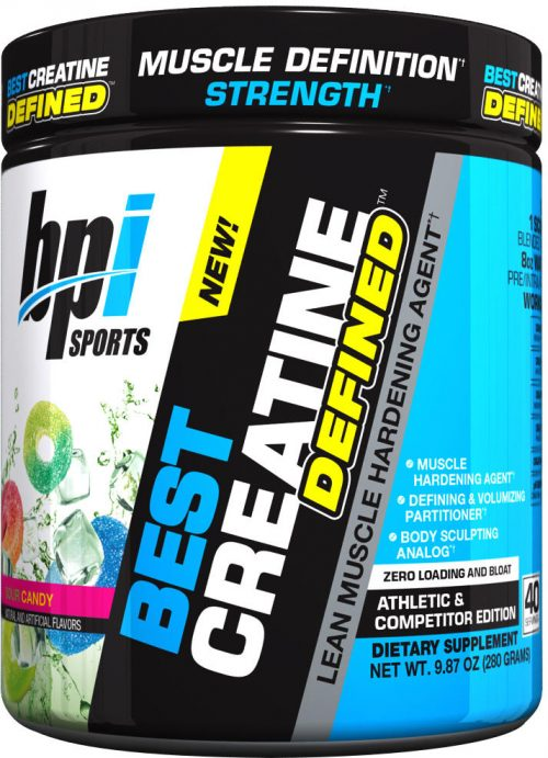 BPI Sports Best Creatine Defined - 40 Servings Sour Candy