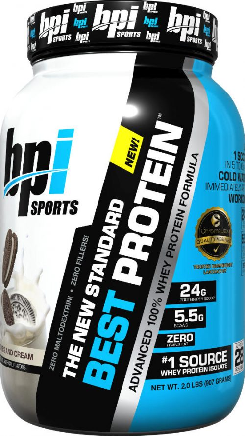 BPI Sports Best Protein - 2lbs Cookies & Cream