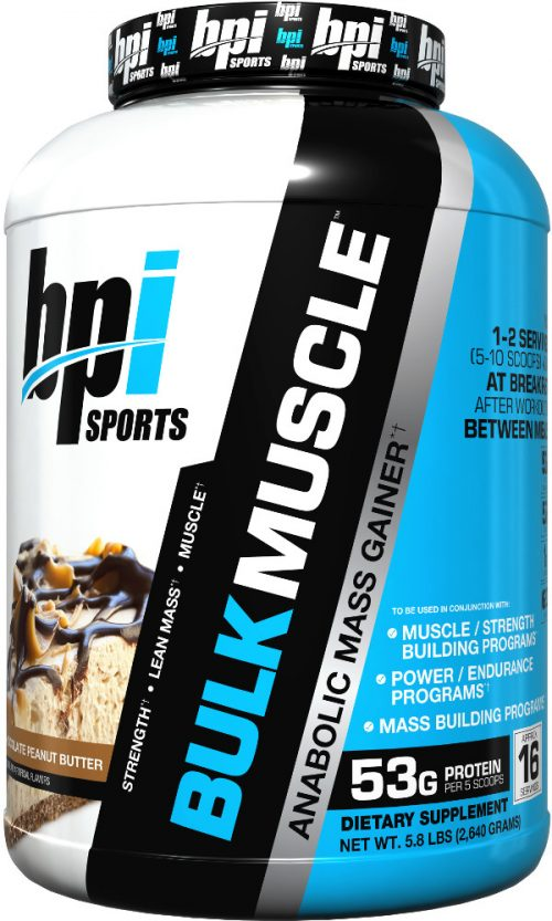 BPI Sports Bulk Muscle - 5.8lbs Chocolate Peanut Butter
