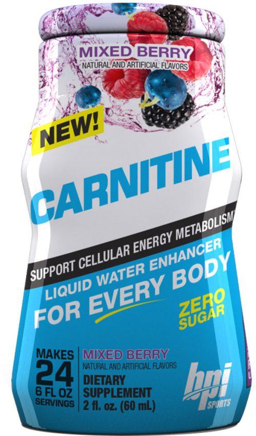 BPI Sports Carnitine Liquid Water Enhancer - 6 Pack (24sv per Bottle)