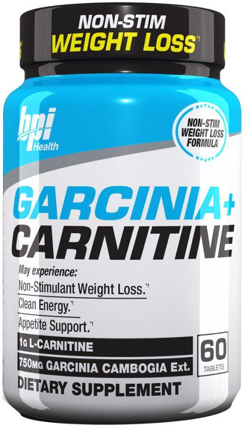 BPI Sports Garcinia + Carnitine - 60 Tablets