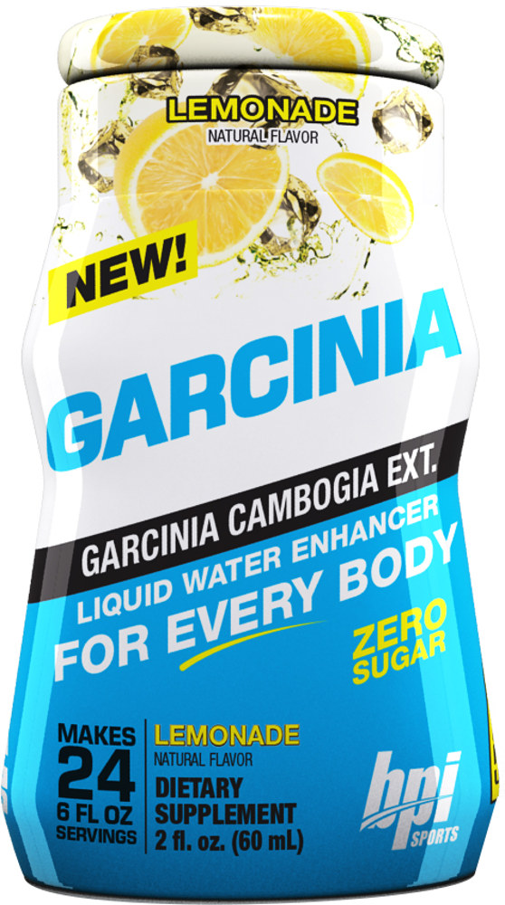 BPI Sports Garcinia Liquid Water Enhancer - 1 Bottle (24sv per Bottle)