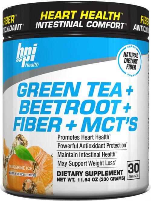BPI Sports Green Tea + Beetroot + Fiber + MCT's - 30 servings Tangerin