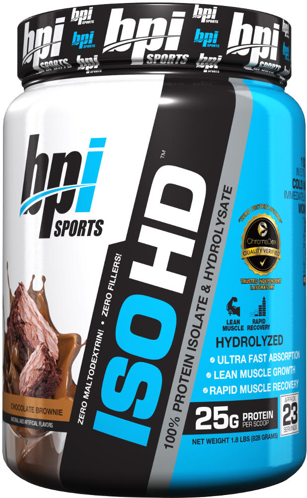 BPI Sports ISO HD - 1.6lbs Chocolate Brownie