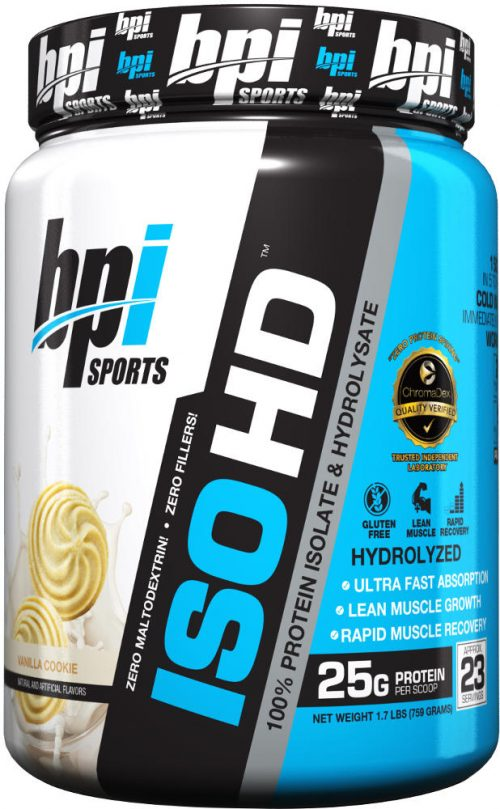 BPI Sports ISO HD - 1.6lbs Vanilla Cookie
