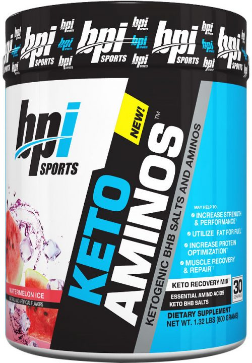 BPI Sports Keto Aminos - 30 Servings Watermelon Ice