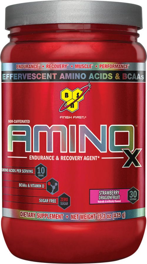 BSN AMINOx - 30 Servings Strawberry Dragonfruit