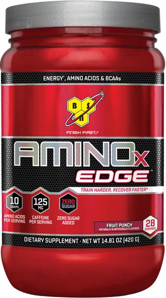 BSN AMINOx EDGE - 28 Servings Fruit Punch