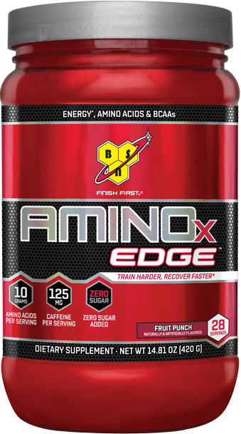 BSN AMINOx EDGE - 28 Servings Strawberry Orange