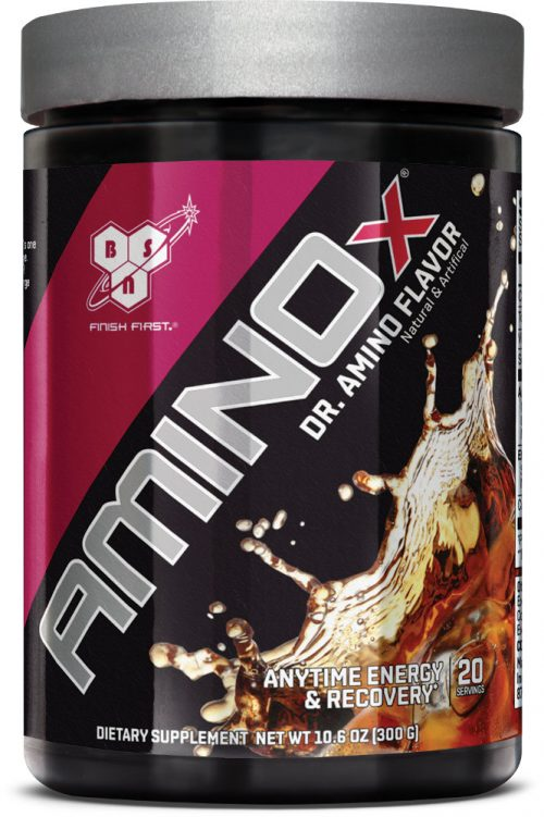 BSN AMINOx Soda Series - 20 Servings Dr. Amino