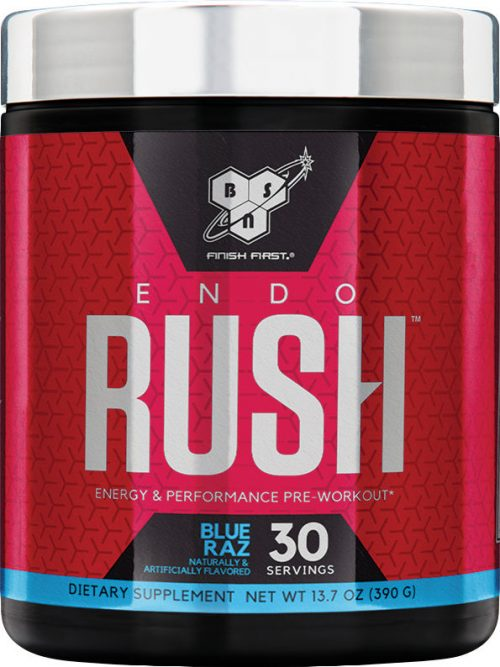BSN Endorush - 30 Servings Blue Raspberry