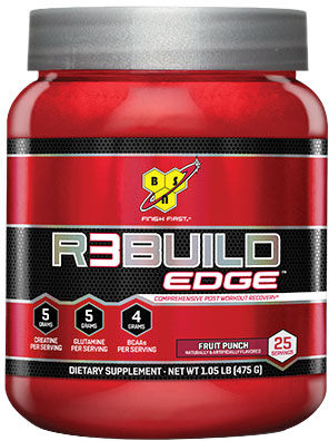 BSN R3BUILD EDGE - 25 Servings Cranberry Limeade