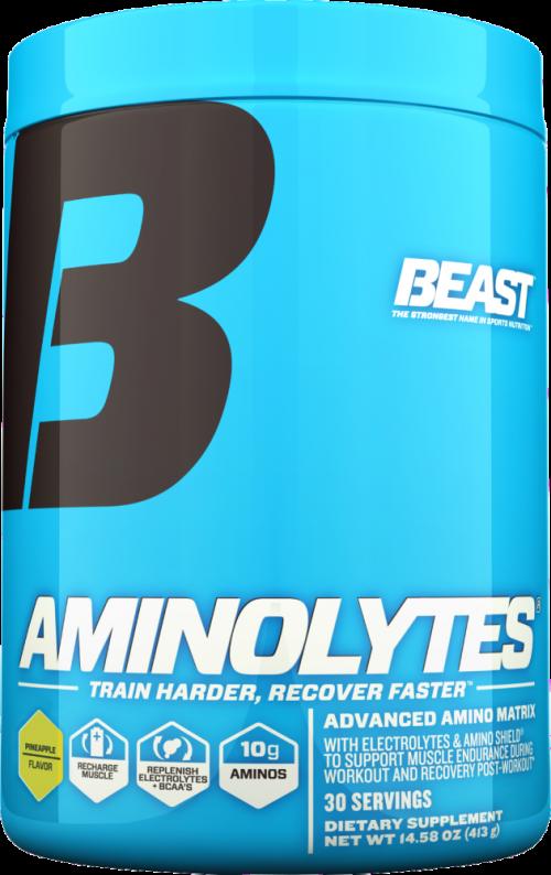 Beast Sports Nutrition Aminolytes - 30 Servings Pineapple