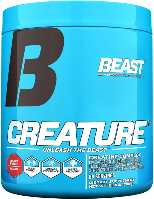 Beast Sports Nutrition Creature Powder - 60 Servings Beast Punch