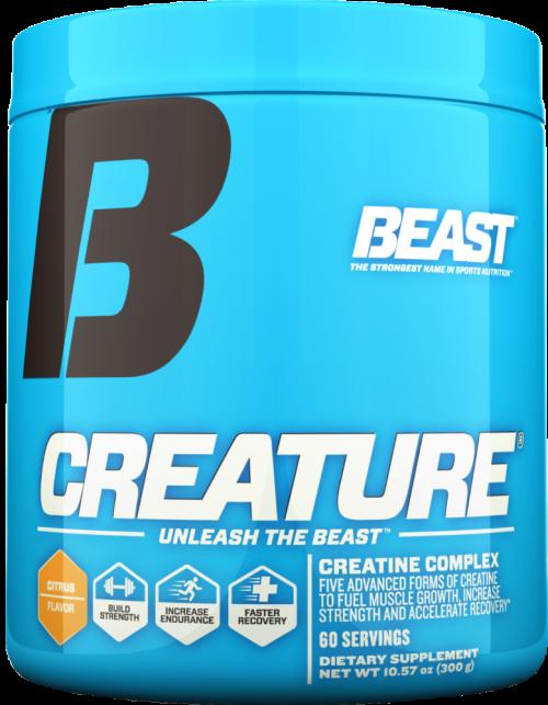 Beast Sports Nutrition Creature Powder - 60 Servings Citrus Flavor
