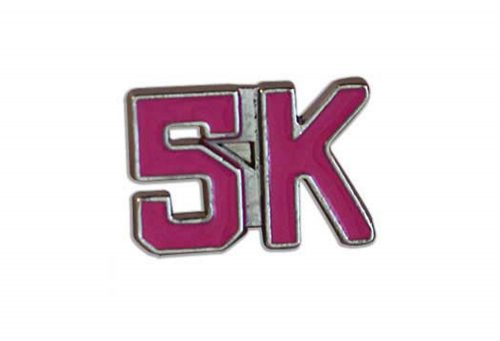 BeeCause 5k Sneaker Charm - hot pink, one size