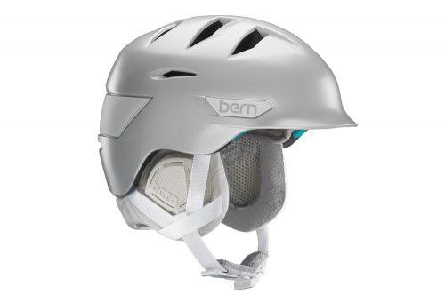 Bern Hepburn Helmet - Women's 2016 - satin delphin grey w/grey liner, xs/s