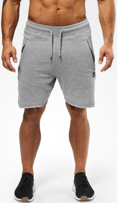 Better Bodies Hudson Sweatshorts - Greymelange Small