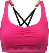 Better Bodies Women's Athlete Short Top - Pink Large