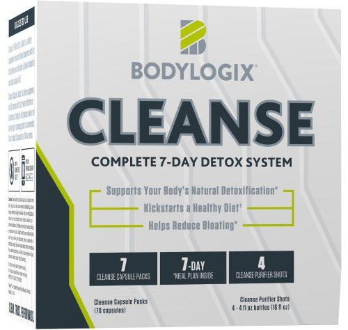 Bodylogix Cleanse - 4 Shot/7 Capsule Packs