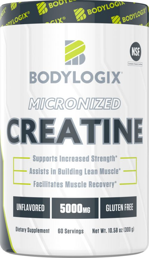 Bodylogix Micronized Creatine - 60 Servings Unflavored