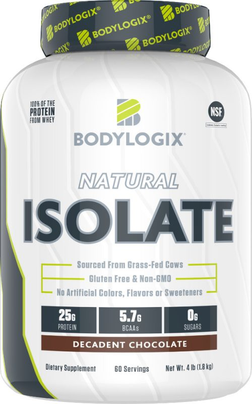 Bodylogix Natural Isolate - 4lb Decadent Chocolate