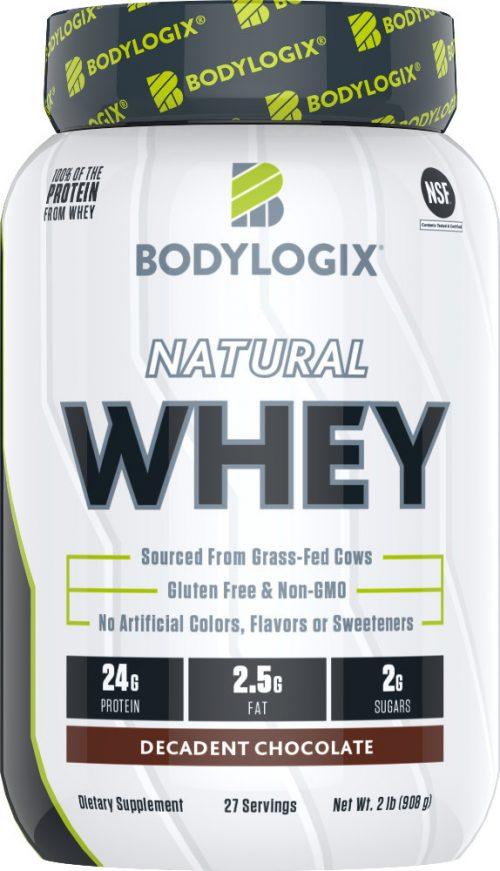 Bodylogix Natural Whey - 2lb Decadent Chocolate