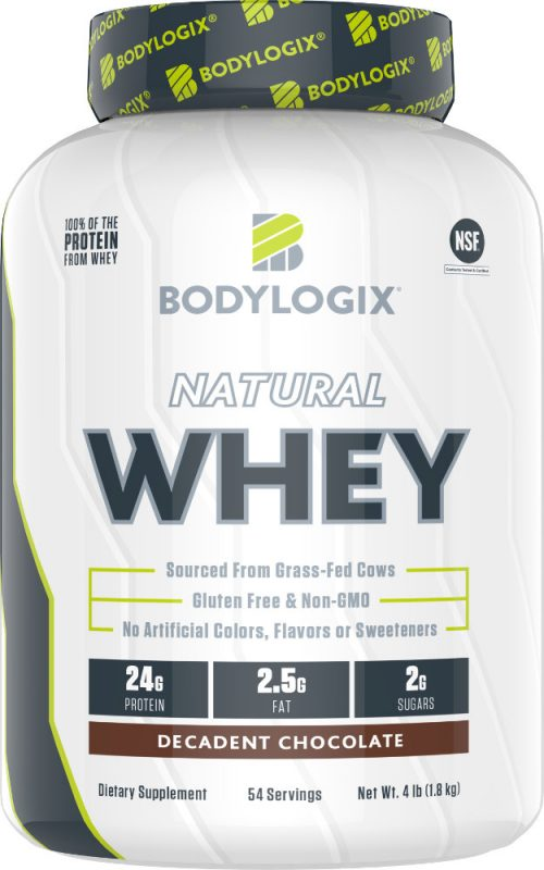 Bodylogix Natural Whey - 4lb Decadent Chocolate