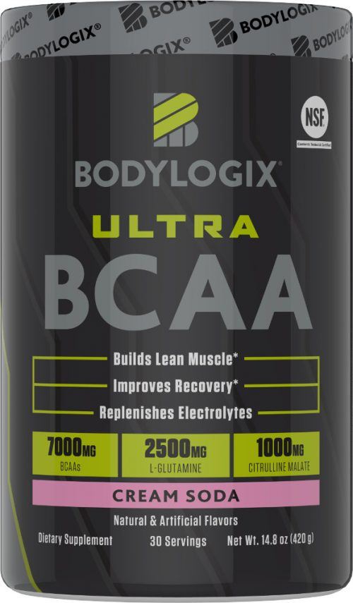 Bodylogix Ultra BCAA - 30 Servings Cream Soda