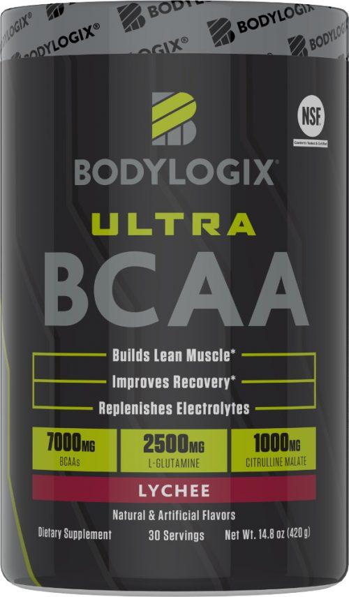 Bodylogix Ultra BCAA - 30 Servings Lychee
