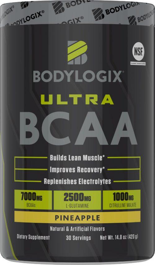 Bodylogix Ultra BCAA - 30 Servings Pineapple