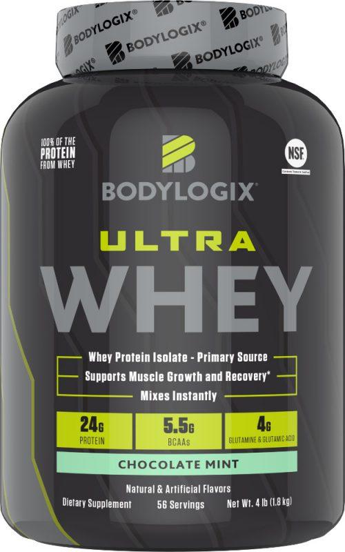 Bodylogix Ultra Whey - 4lbs Chocolate Mint