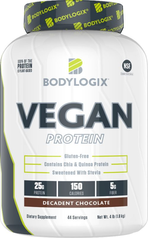 Bodylogix Vegan Protein - 4lbs Decadent Chocolate