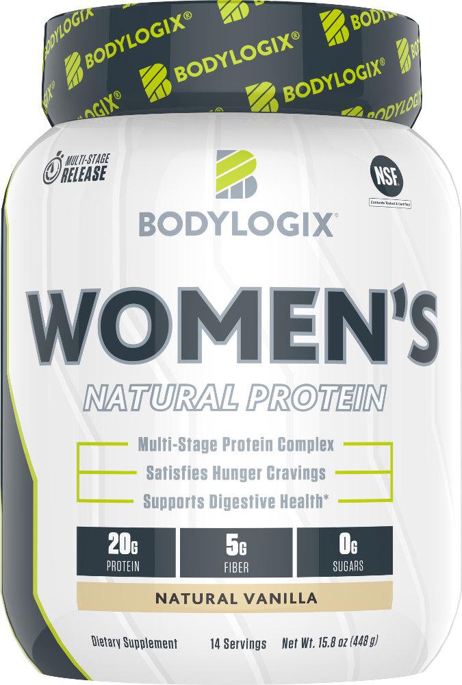 Bodylogix Women's Natural Protein - 14 Servings Natural Vanilla