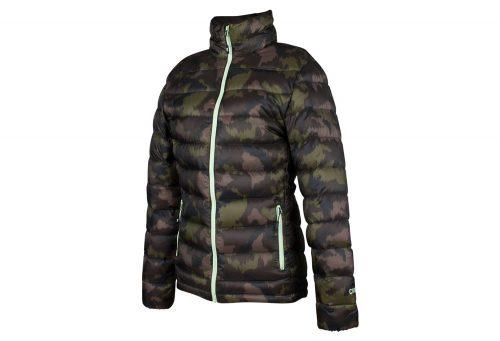 CIRQ AVA 700 Down Jacket - Women's - camo print/army/paradise green, large