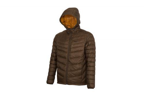 CIRQ Cascade Hooded Down Jacket - Men's - hickory, medium