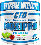 CTD Sports Noxipro - 40 Servings Cherry Limeade