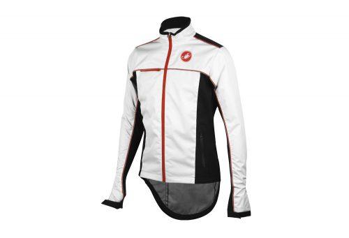 Castelli Sella Rain Jacket - Men's - white/black, large