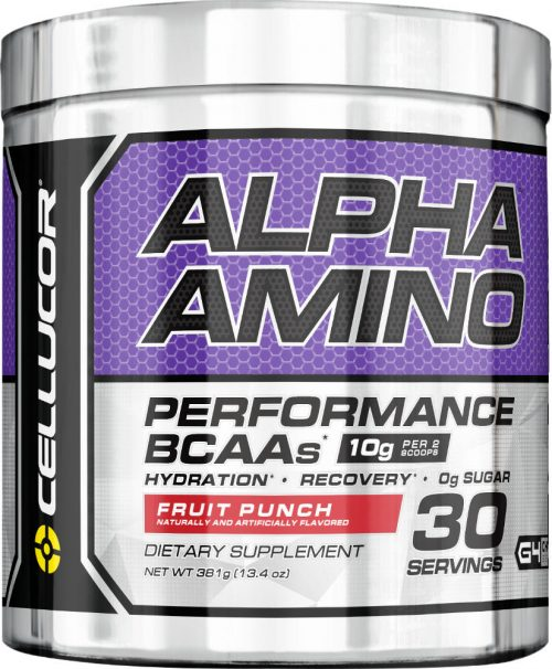 Cellucor Alpha Amino - 30 Servings Fruit Punch